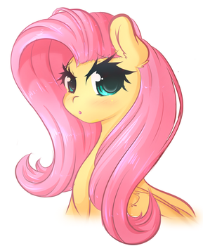 Flutter Doodle by FluffyMaiden