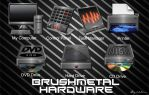 Brushmetal Hardware by 0dd0ne