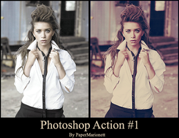 Photoshop action 1 by PaperMarionett