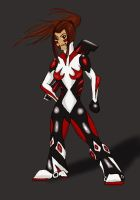 Red's New Suit by RedTigress