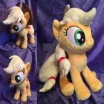 Applejack plush for Acrinn45 by Zombies8MyWaffle