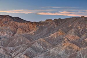 zabriskie point sunset by yo13dawg