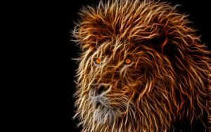 Lion-Fractalius by KarmeticPeace