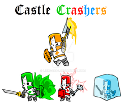 Castle Crashers by Linkgcn64