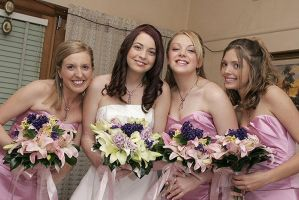 My gorgeous Bridesmaids by Katty10
