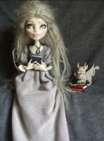 Monster High Custom Regency Era Rochelle 1 by AdeCiroDesigns