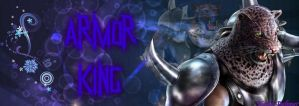 Armor King - Banner by NatlaDahmer