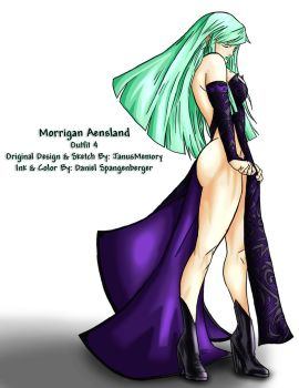 Morrigan Aensland Alt Outfit 4 by Renezuo
