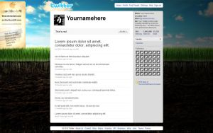Personal Twitter 4.0 by TheAL