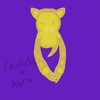 Abra + Reuniclus by typical-gamin-loser