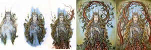 WIP - Queen of the forest by jankolas