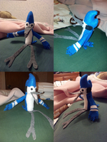 Mordecai Plush (I'm For Sale) by kibaandme