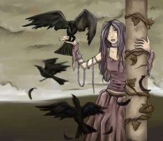 Company of Crows by Anne-O