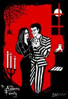 The Addams family by Logna