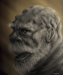 Old Man Johnson by thesadpencil