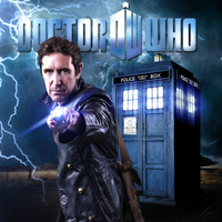 Doctor Who Paul McGann by PZNS