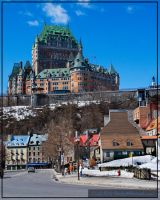 chateau Frontenac by boulie