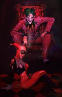 Joker and Harley by thesilvabrothers