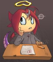 Ozzy Fails His Test by GlassWind