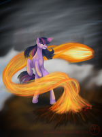 Fury of Twilight Sparkle by Adalbertus