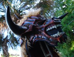 Commission: Leather Tauren/Minotaur Mask by Epic-Leather