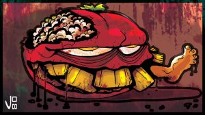 TOMATO ZOMBIE by drull