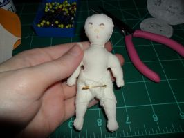 Baby Cloth Doll by kayanah