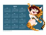 Tiger Girl Wallpaper by mashi