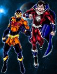 Ultimate Power and Astro Man by Captain86