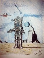 Robby the Robot by Donnietu