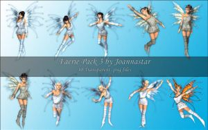 Faeries Pack 3 by joannastar-stock
