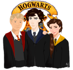 Sherlock: The Golden Trio by Bamiebal