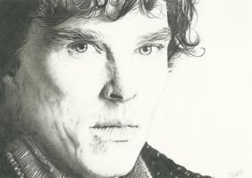 Sherlock - A Study in Graphite by SheenaBeresford