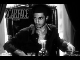 Me As Scarface by GermanIsaev