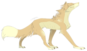 Wolf adoptable open by Phed-adopts