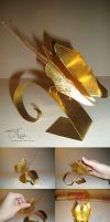 Copper butterfly by XThrill