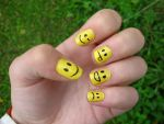 Smileys by WaterLily-Gems