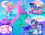 SPECIAL EVENT! WAVE2 -VAPORWAVE DANDYLYONS CLOSED! by AdorkableMarina