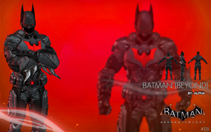 Batman Arkham Knight - Batman (Batman Beyond) by XNASyndicate