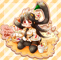 Happy Birthday Filia! by tatugon