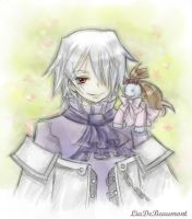 Xerxes Break - Pandora Hearts by LiaDeBeaumont