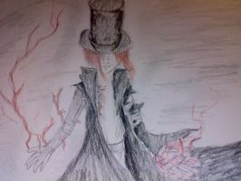 The Red Lightening Man by Lovely-Madness-13