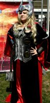 Lady Thor cosplay by ispahan13