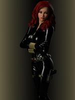 Black Widow by ironhead333