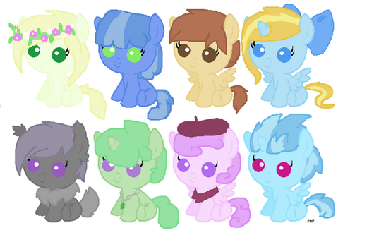 Foal Adoptables Batch #3 OPEN by Boxeycat