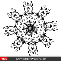 Ornate Design Elements Vector Graphics by 123freevectors