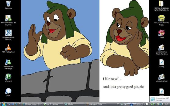 Gruffi desktop by Dj-Cj