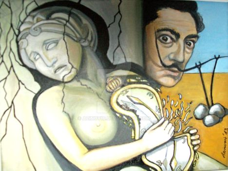 Dali's watsh or an attempt to hold on time by Azinovic