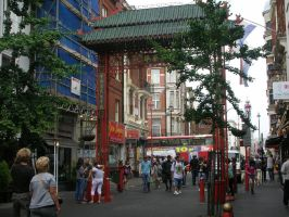 Chinatown by SaffyLailo
