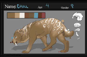 Smilodon Version by weatherstained